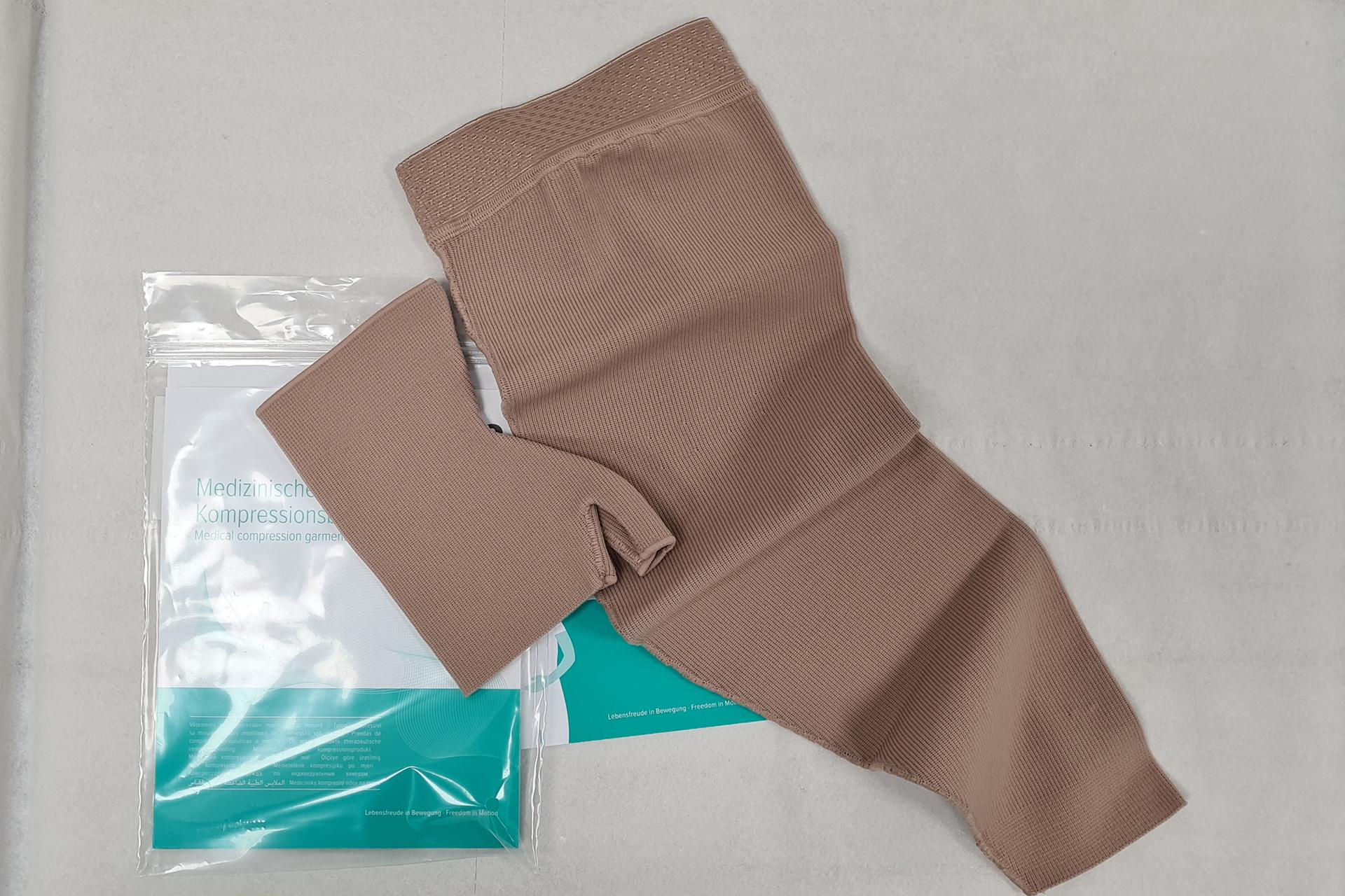 Tutori elastici per linfedema o a trama piatta